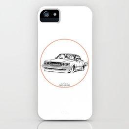 Crazy Car Art 0199 iPhone Case