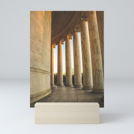 Around the Rotunda Mini Art Print