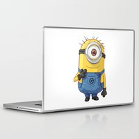 carl sagan Laptop & iPad Skins featuring Minion - Carl by Konstantin Veter