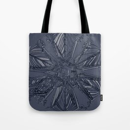 Snow Marries Stone Tote Bag