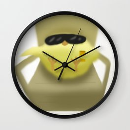 Hot Chick | Pip Wall Clock