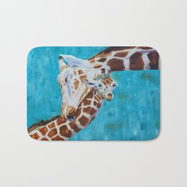 Giraffe Calf Willow Bath Mat