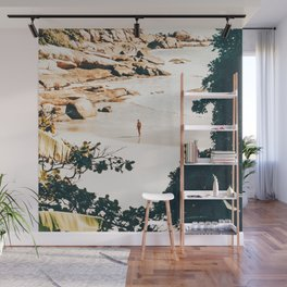 Solo Traveler || #illustration #travel Wall Mural