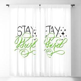 Stay Weird Blackout Curtain