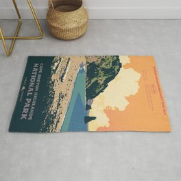 Cape Breton Highlands National Park Rug