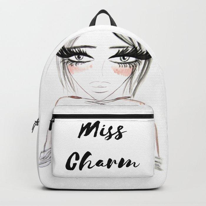 Grey Eyes Backpack