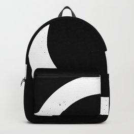 (CIRCLE) (BLACK & WHITE) Backpack