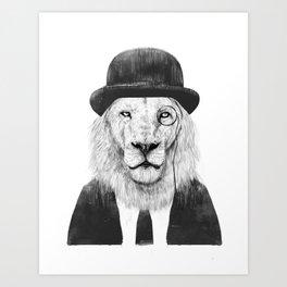 Sir lion Kunstdrucke