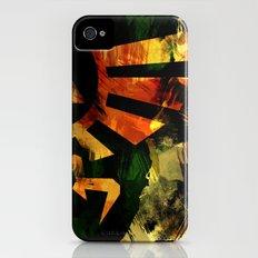 The Triforce - Digital Watercolor iPhone (4, 4s) Slim Case