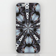 Shades Of Blue Kaleidoscope iPhone & iPod Skin