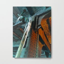 Under The City Metal Print