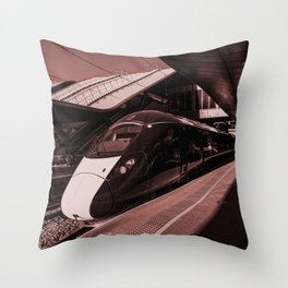 IET in Red  Throw Pillow