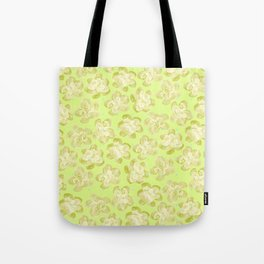 Wallflower - Butter Yellow Tote Bag
