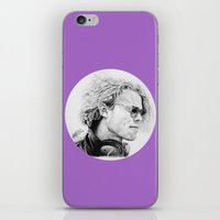 ashton irwin iPhone & iPod Skins featuring Ashton by Drawpassionn