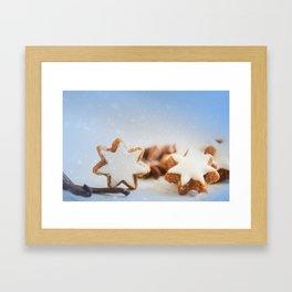 Cinnamon Stars Backery Framed Art Print