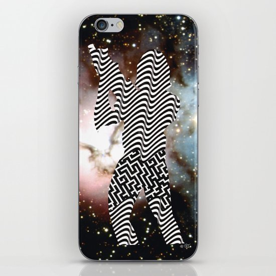 Cut StarWars - Space Streifenhörnchen iPhone & iPod Skin