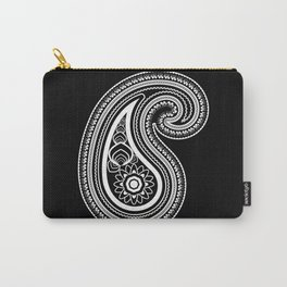 Invert paisley Carry-All Pouch
