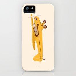Little Yellow Plane iPhone Case