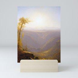 Sanford Robinson Gifford A Gorge in the Mountains Mini Art Print