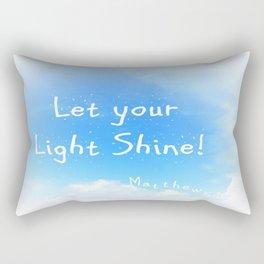 Let Your Light Shine! Rectangular Pillow
