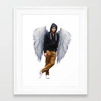 zayn Framed Art Prints featuring Zayn by gutsngore