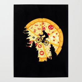 Pizza Moon Poster