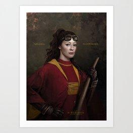 McGONAGALL Art Print