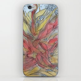 Semer aux quatre vents iPhone Skin