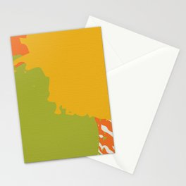 Colorful Brush Strokes AP176-6 Stationery Cards