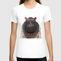 hippo T-shirts featuring Hippo by iacolarepierre