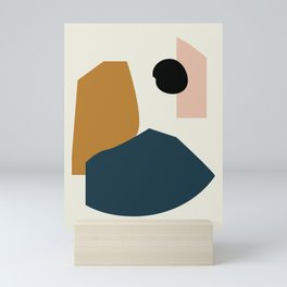 Shape study #1 - Lola Collection Mini Art Print