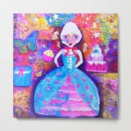 petite Marie Antoinette Metal Print