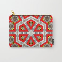 The Red Hexagon Carry-All Pouch