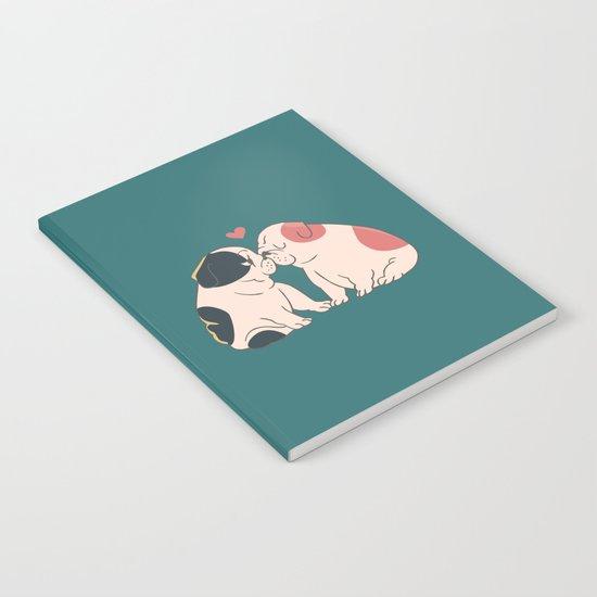 English Bulldog Kisses Notebook