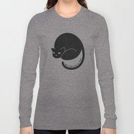 Ceci N'est Pas Un Chat Long Sleeve T-shirt