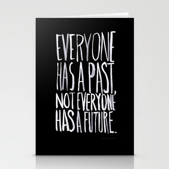 Past/Future Stationery Cards