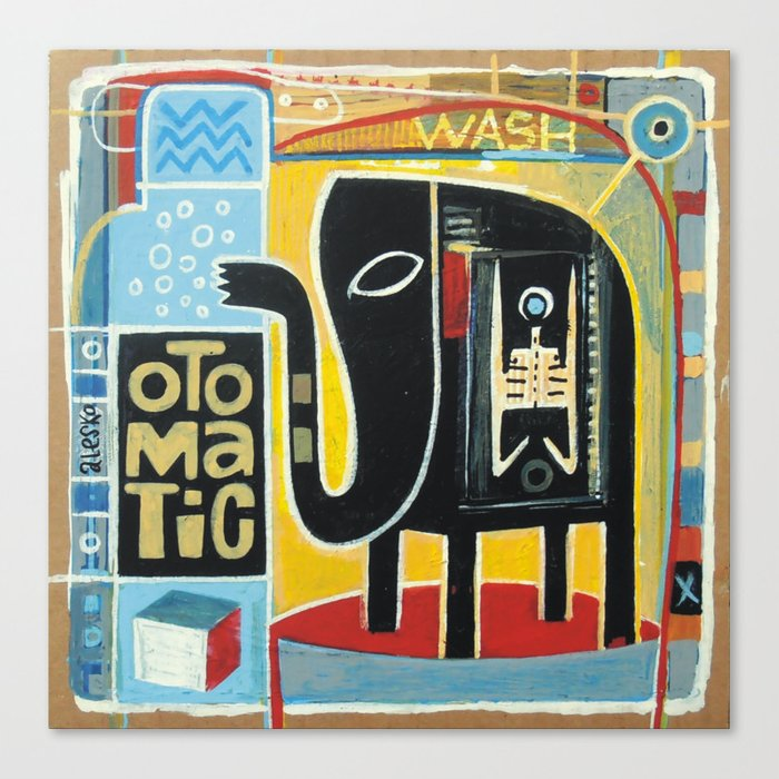 Otomatic Wash Canvas Print