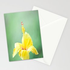 Yellow Hibiscus 2 Stationery Cards