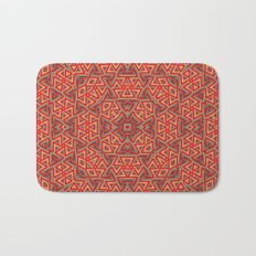 Aztec Sunshine Pattern Bath Mat