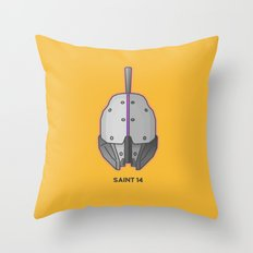 Loot#1 - Helm of Saint 14 Throw Pillow