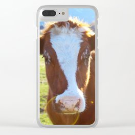 CoW #1 Clear iPhone Case