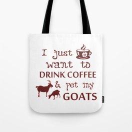 Coffee & Goats Tote Bag