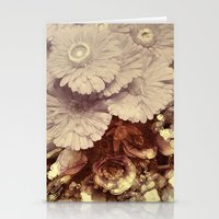 vintage floral Stationery Cards featuring Vintage Floral by Joke Vermeer
