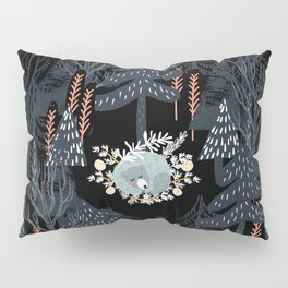 fairytale night forest Pillow Sham