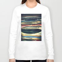 oil Long Sleeve T-shirts featuring put your records on by Bianca Green