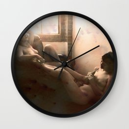 """The day after felt so right"" Wall Clock"