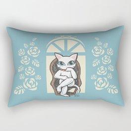 Rattan chair Rectangular Pillow