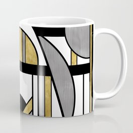 Up and Away - Art Deco Spaceman Coffee Mug