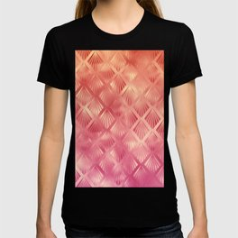 Cute Pink Shells Pattern T-shirt