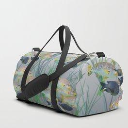 Aquarium pattern Duffle Bag